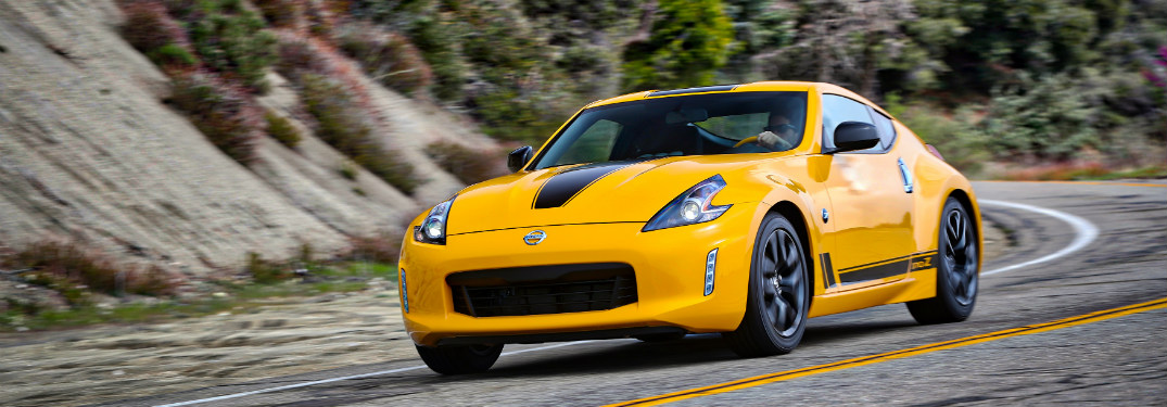 2018 Nissan 370z Coupe in yellow