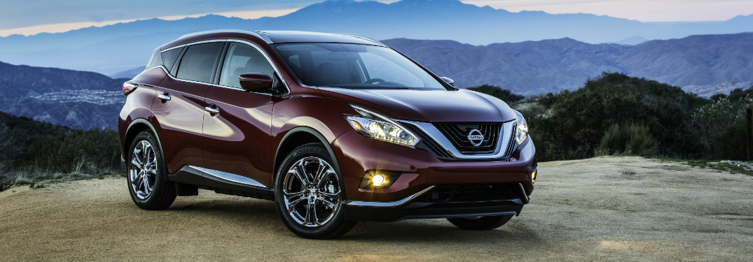 2018 Nissan Murano in red