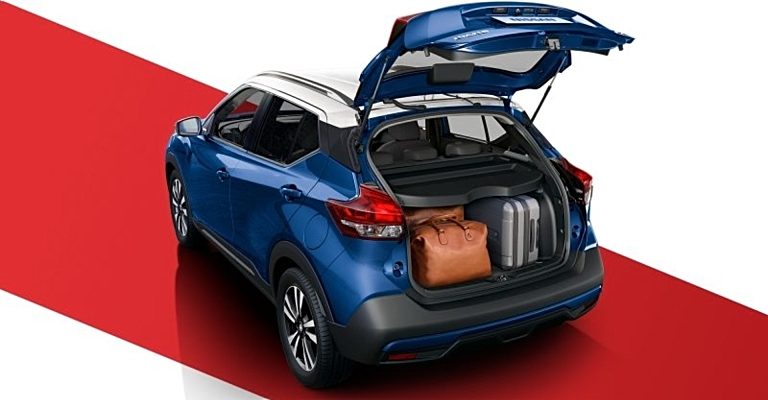 Cargo Room Of The 2018 Nissan Kicks