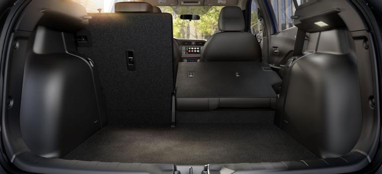 Cargo Room Of The 2018 Nissan Kicks