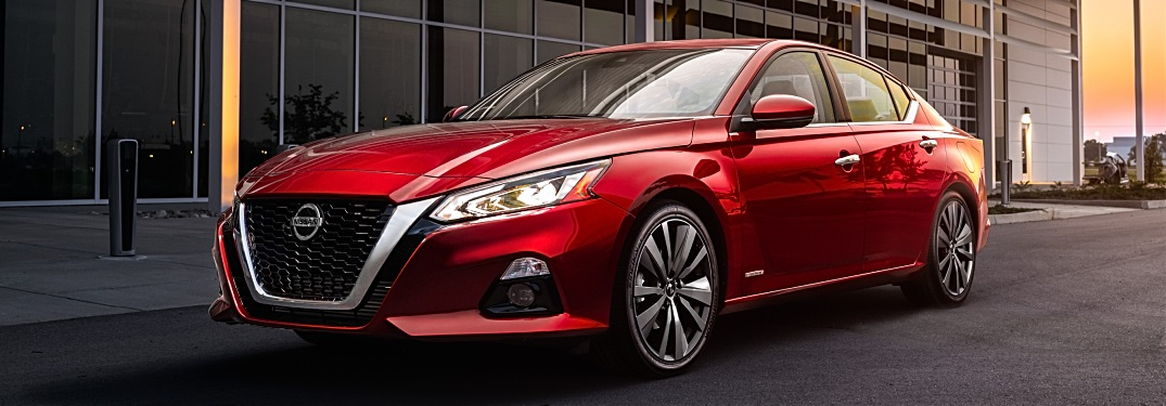 2019 Nissan Altima Edition ONE red front side view