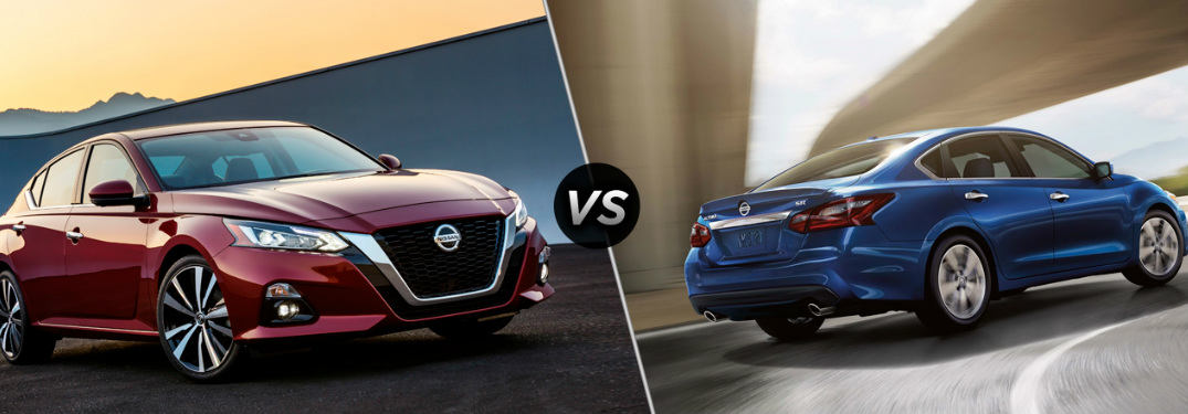 Comparing the 2019 Nissan Altima with the 2018 Altima