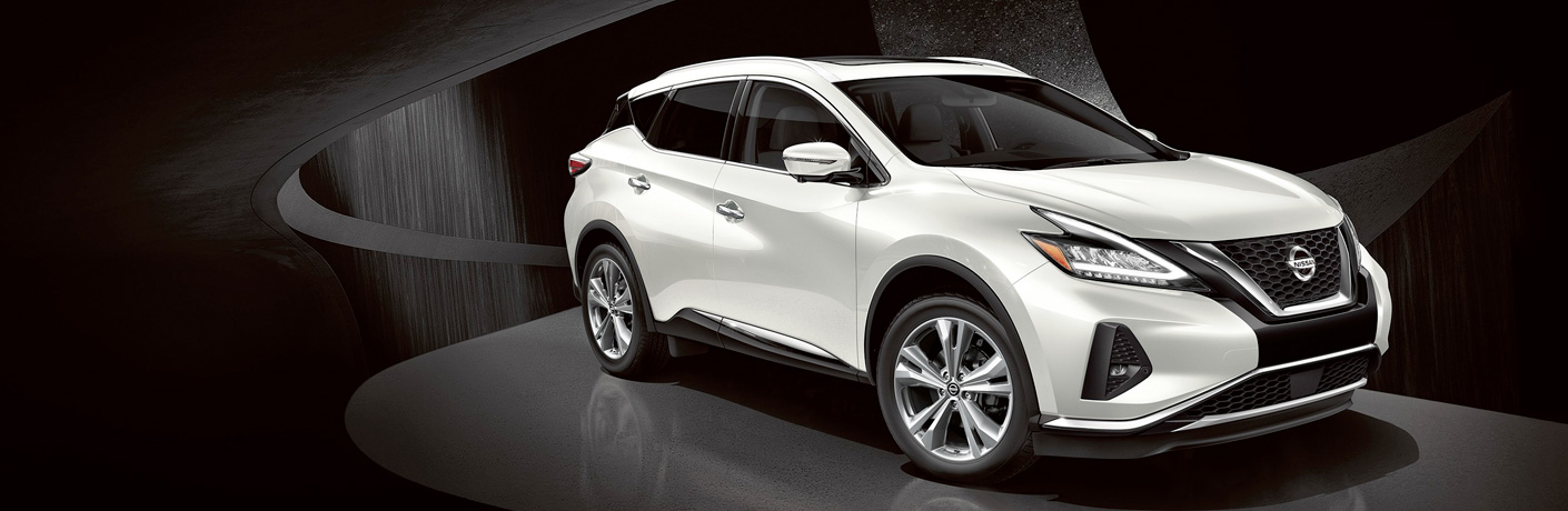 2019 Nissan Murano on black and grey modern background
