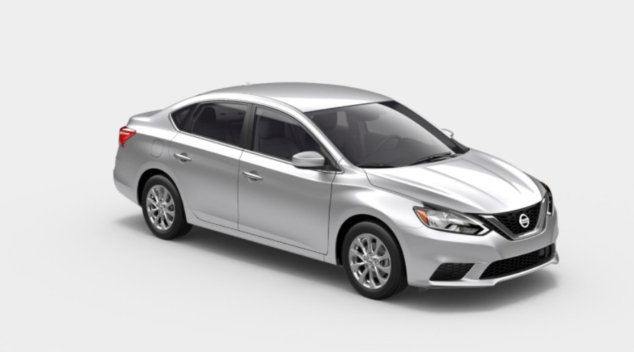 2019 Nissan Sentra in Brilliant Silver Metallic