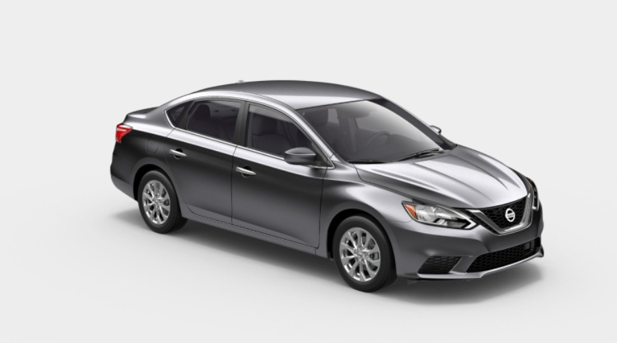 2019 Nissan Sentra in Gun Metallic