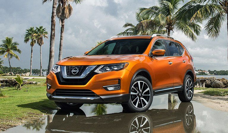 A photo of the Nissan Rogue.