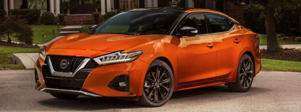 What are the new features for the 2020 Nissan Maxima?