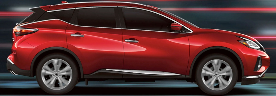 Profile view of the 2020 Nissan Murano