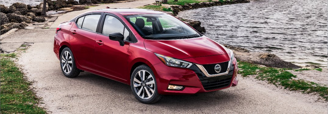 Photo Gallery: 2020 Nissan Versa Color Options