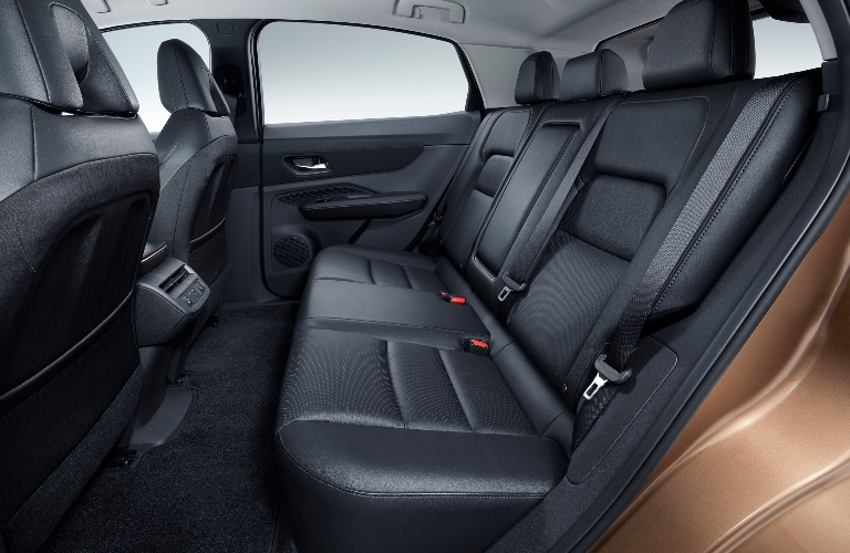 Back seats of the Nissan Ariya