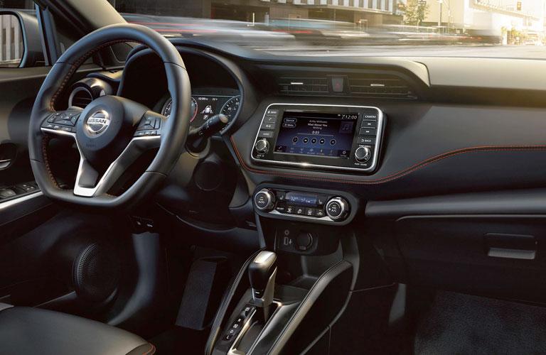 Dashboard of the 2020 Nissan Kicks