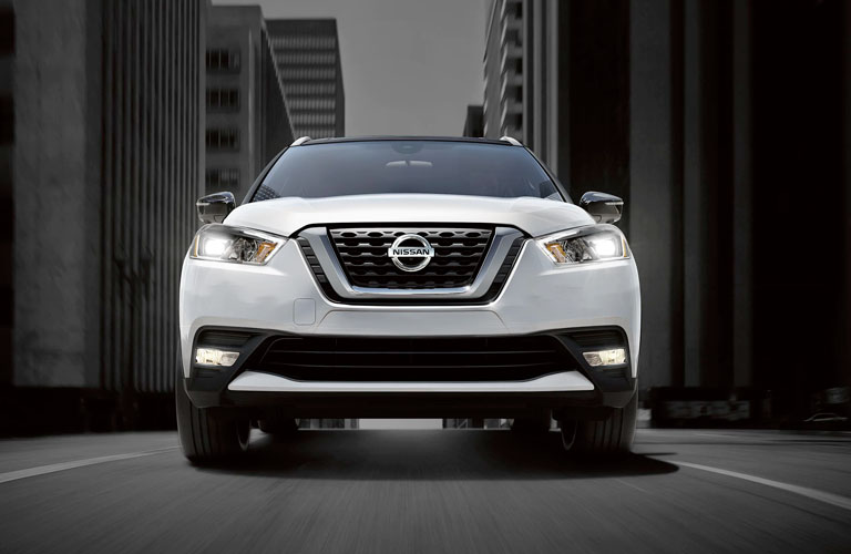 Front end of the 2020 Nissan Kicks