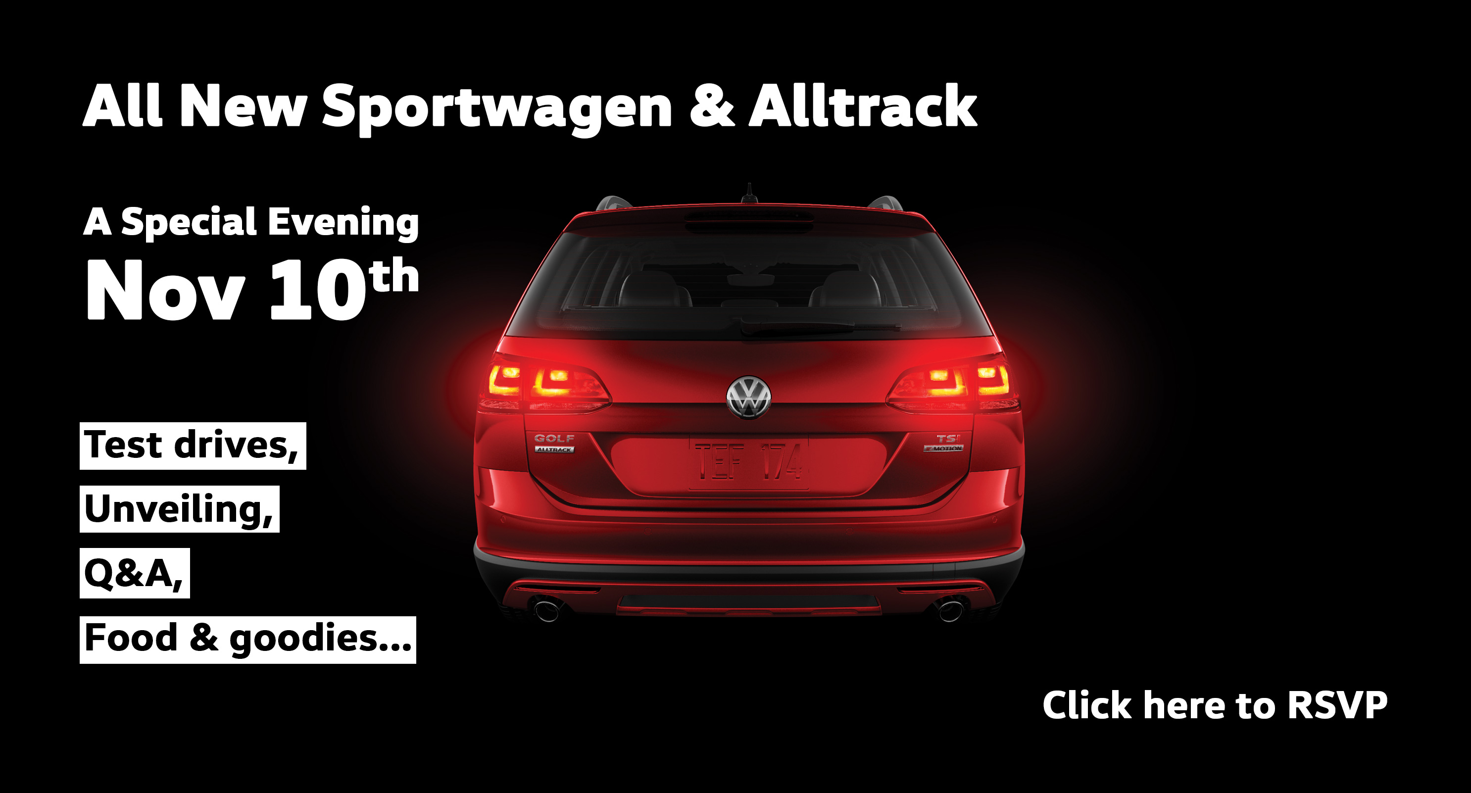 VW Alltrack and Sportwagen Special Evening at Clarkdale Volkswagen in Vancouver