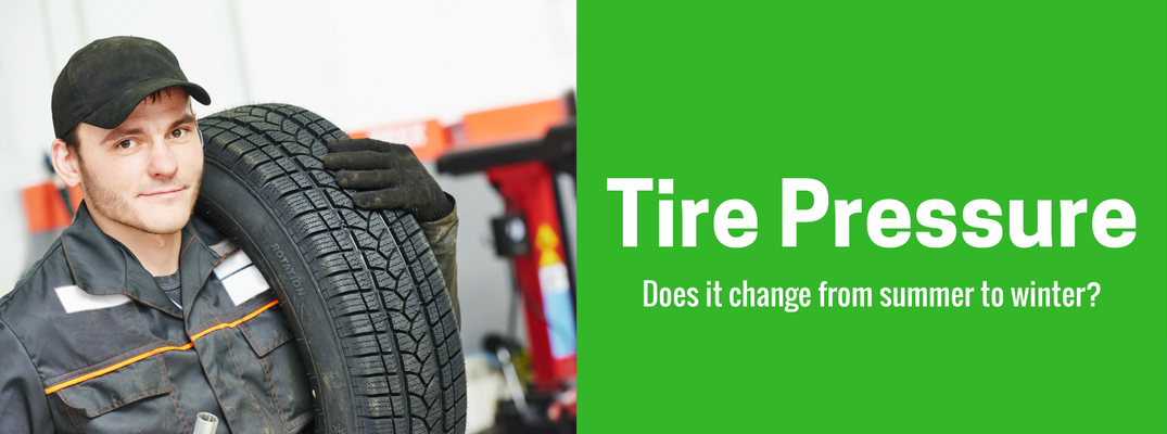 Tire Pressure Maintenance in Winter and Summer