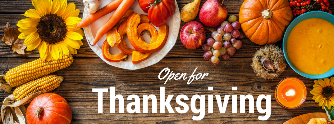 Restaurants open on Thanksgiving 2016 in Burlington VT