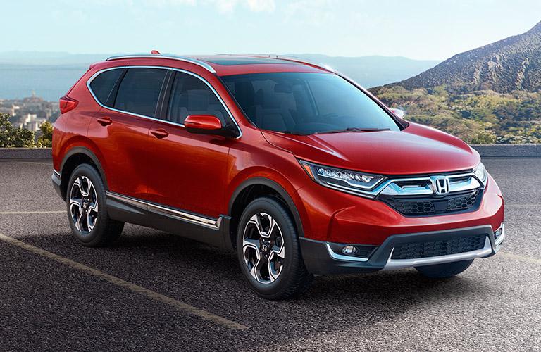 2017 Honda CR-V in red