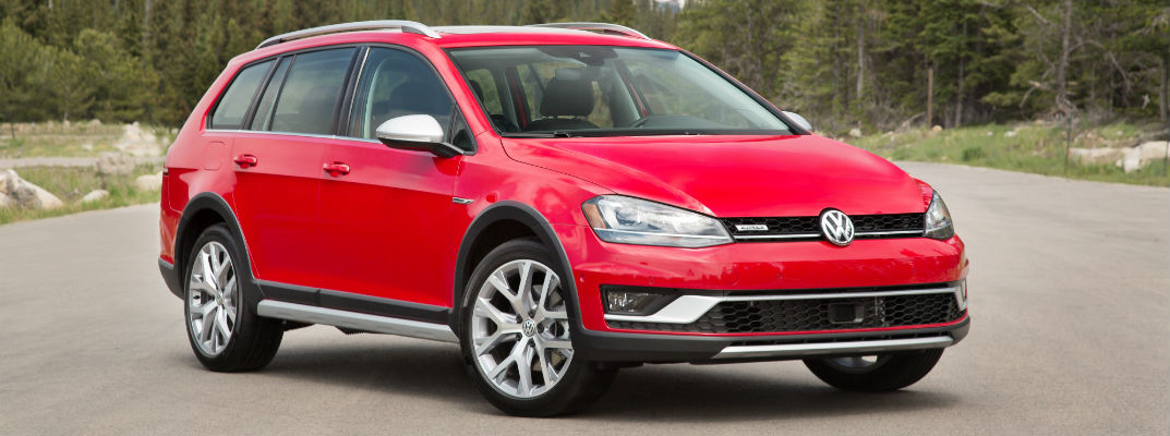 2017 Volkswagen Golf Alltrack Color Options