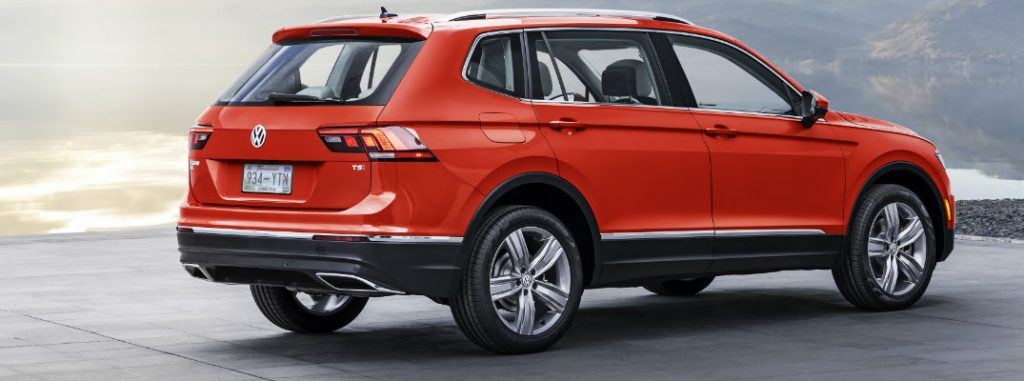 2018 Volkswagen Tiguan features and specs