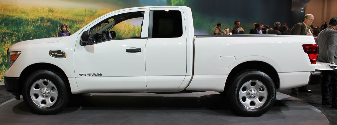 2017 Nissan Titan King Cab Design and Release Date