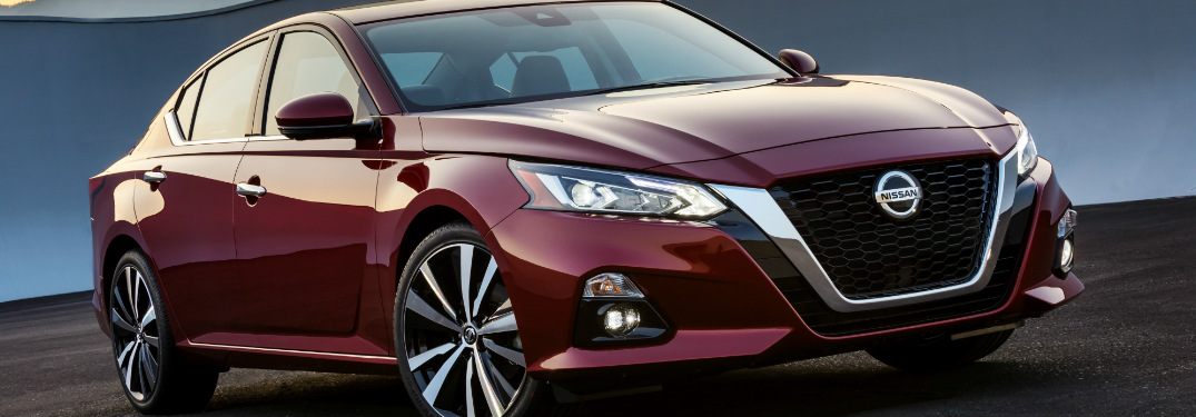 ... 2019 Nissan Altima Exterior In Red