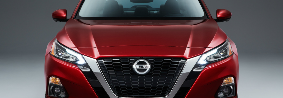 2019 Nissan Altima front fascia and grille