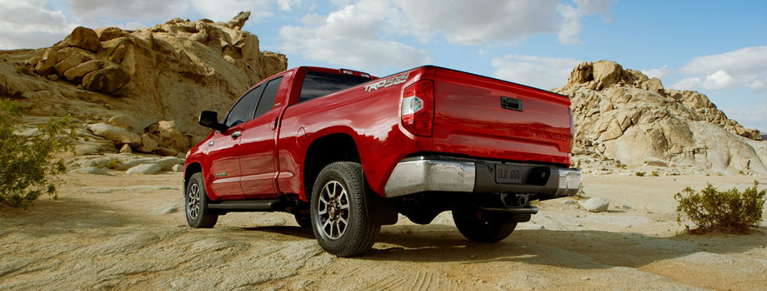 2016 Toyota Tundra towing capacity