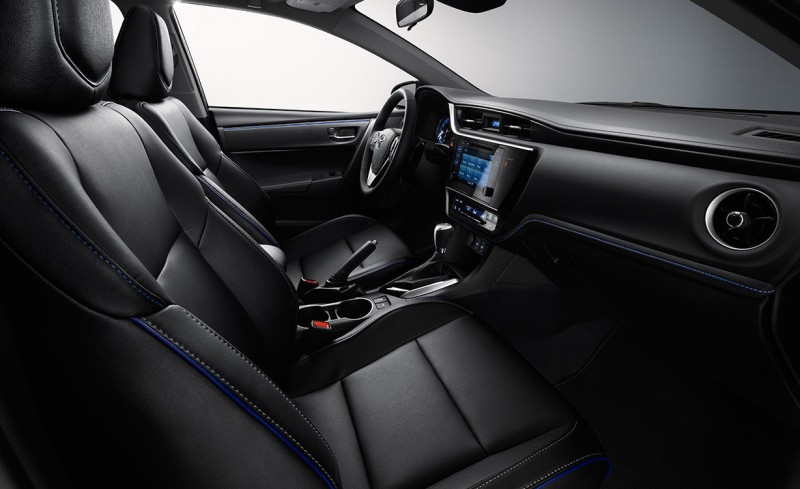 2017 Toyota Corolla Interior Front Seats O Orland Toyota