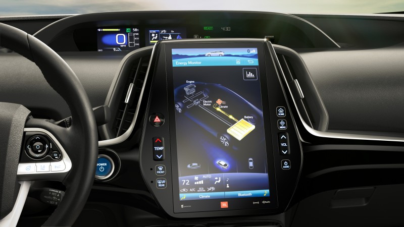 2017 Toyota Prius Prime Interior Touch Screen