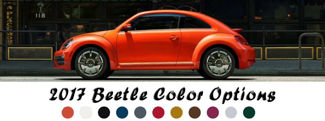 Gray Vw Beetle >> 2017 Volkswagen Beetle Paint Color Options