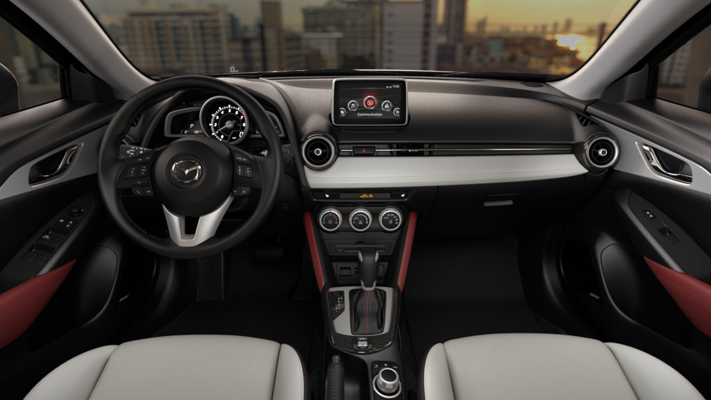 2016 mazda cx 3 interior capistrano mazda. Black Bedroom Furniture Sets. Home Design Ideas