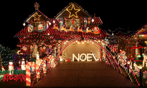 Christmas light shows Orange County CA_b - Capistrano Mazda