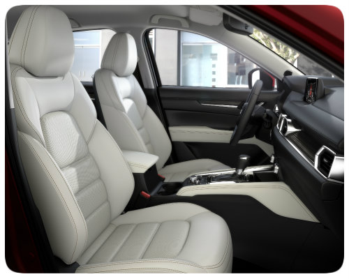 2017 All New CX 5 Interior_front Seats