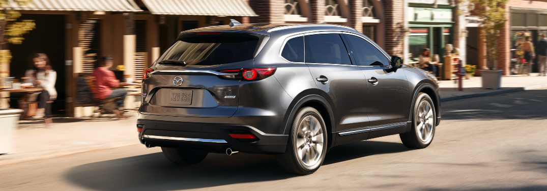 what features does the 2019 mazda cx-9 signature trim offer?