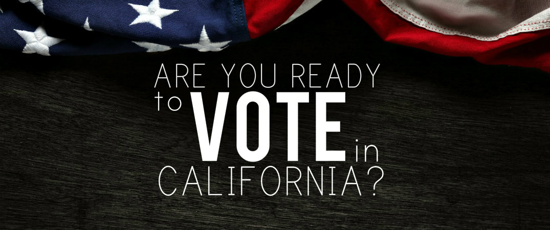 Are you ready to vote for president in the california for For how long do we elect the president