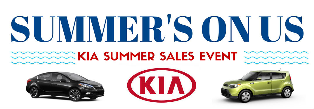 hometown Kia Summer sales event