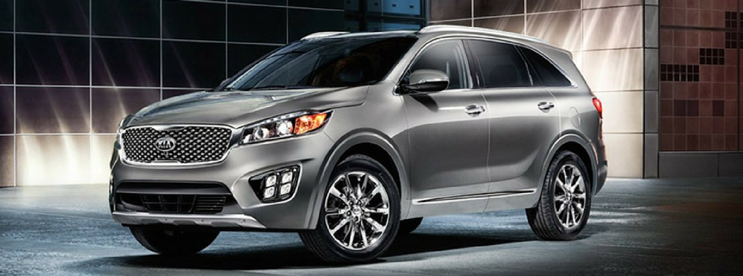 2017 Kia Sorento Interior and Exterior Color Options