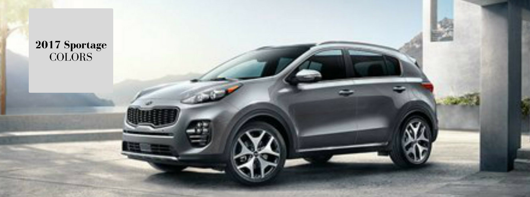 2017 Kia Sportage Interior And Exterior Color Options