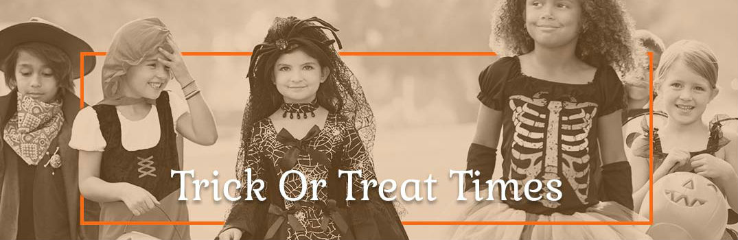 2017 Halloween Trick-or-Treat Times Mount Hope WV