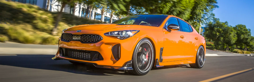 What did Kia bring to the 2017 SEMA Show?
