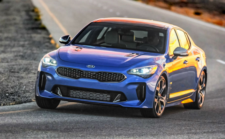 What Does The Event Entail? 2018 Kia Stinger Exterior Driver Side Front  Fascia