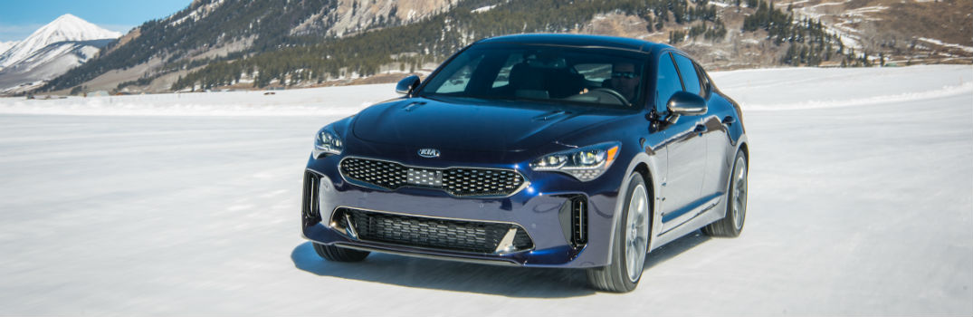 2019 Kia Stinger GT Atlantica Specs & Features