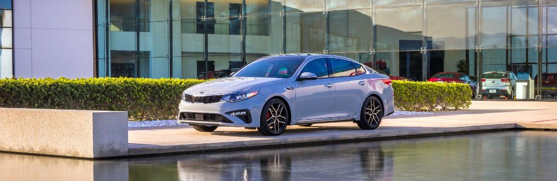 2019 Kia Optima Silver Exterior Driver Side Profile