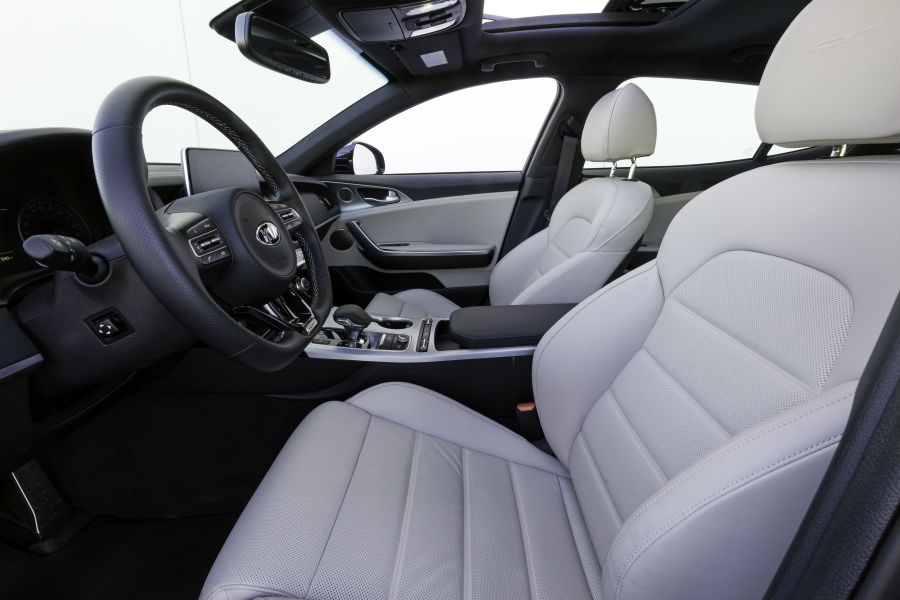 2018 kia stinger gt named one of wards 10 best interiors