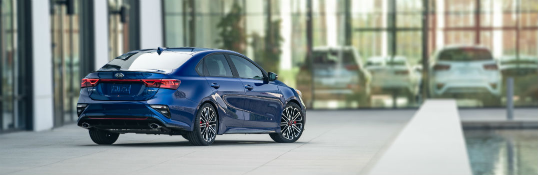 2020 Kia Forte GT Sport Trims Exterior Passenger Side Rear Profile