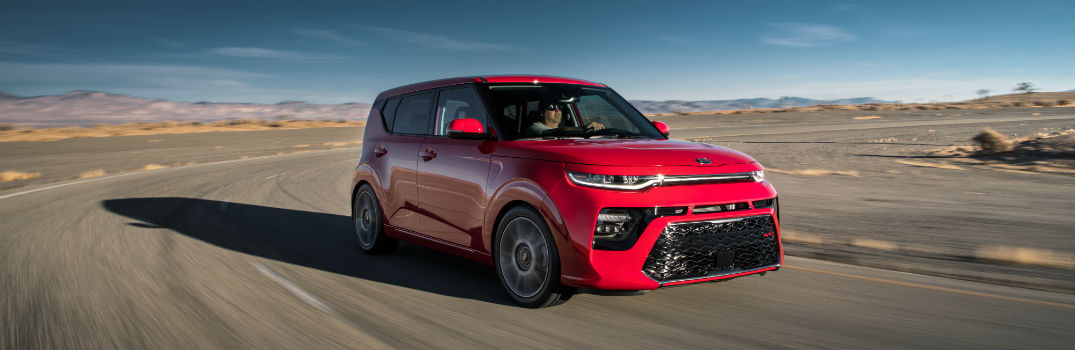 2020 Kia Soul GT Exterior Passenger Side Front Angle