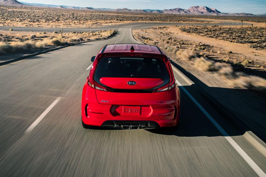 2020 Kia Soul GT Exterior Rear Fascia