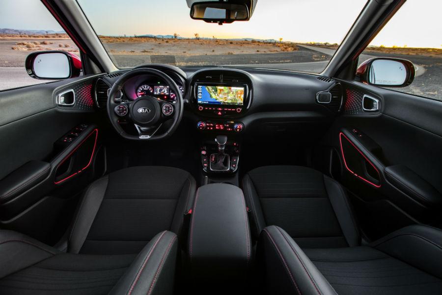 2020 Kia Soul GT Interior Cabin Dashboard Front Seats