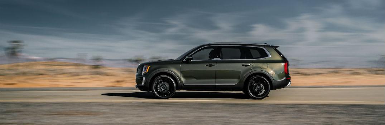 2020 Kia Telluride Exterior Driver Side Profile