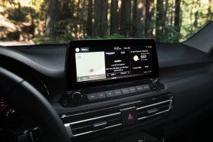 Touchscreen display in 2021 Kia Seltos