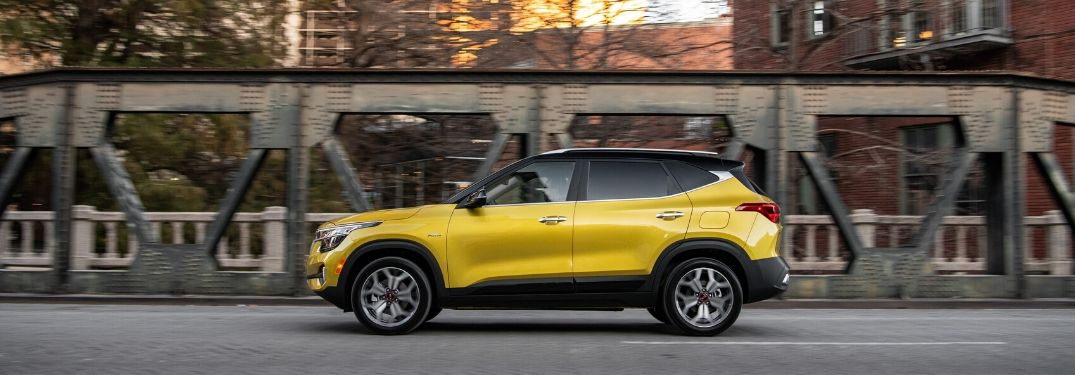 2020 Kia Seltos from exterior driver's side